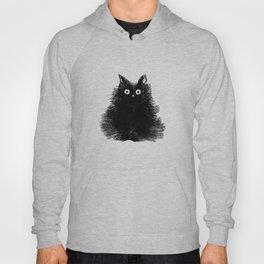 Duster - Black Cat Drawing Hoody
