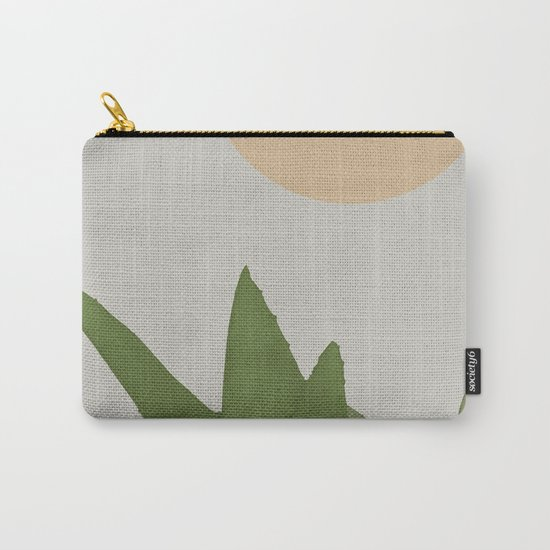 Aloe and moon Carry-All Pouch