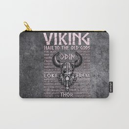 Viking Mythology Design Hail To The Old Gods Carry-All Pouch