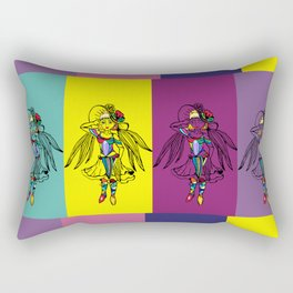 Color dancer Rectangular Pillow