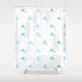 moana marmaid - new zealand sea collection Shower Curtain