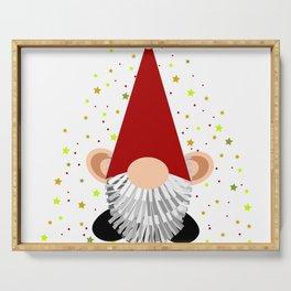 Santa - Gnome Serving Tray