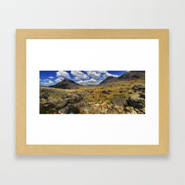 Rocky Mountain Stream Framed Art Print