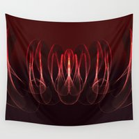 math Wall Tapestries featuring Invisible Math by Rabassa