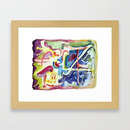 Garuda Framed Art Print
