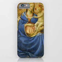 "Fra Angelico (Guido di Pietro) ""Madonna of Humility"" 1440 iPhone Case"