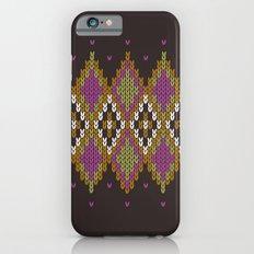 Argyle Dream Slim Case iPhone 6s