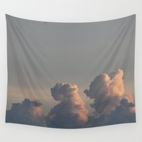 et Wall Tapestries featuring ET and Mickey Mouse by Stecker Photographie