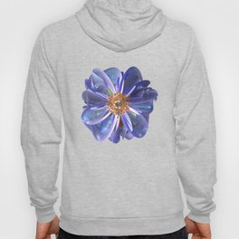 Purple & Gold Flower Hoody
