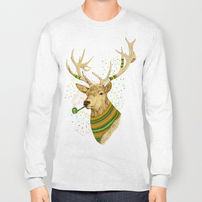 WONDER DEER II Long Sleeve T-shirt