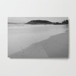 The mark of sea Metal Print