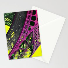 purple paris Stationery Cards