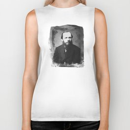 Fyodor Dostoevsky Biker Tank