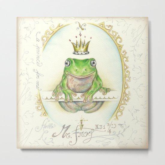A prince for me.  PrinceFrog Metal Print
