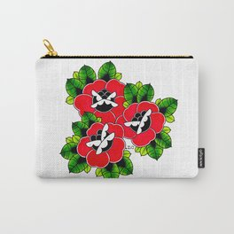 Traditional Roses  Carry-All Pouch