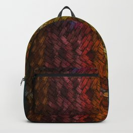 Colored Patchwork Backpack