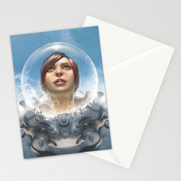 Certified Organic Astronaut Stationery Cards