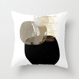 Minimal Tone Throw Pillow