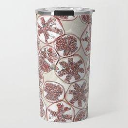 watercolor pomegranates Travel Mug