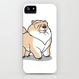 Gordon the Chow Chow iPhone Case