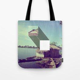 Stitched Amazon Tote Bag