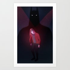 undertheredhood Art Print