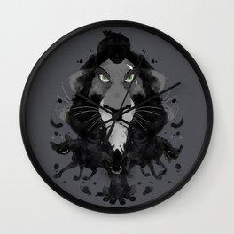Scar Ink Wall Clock