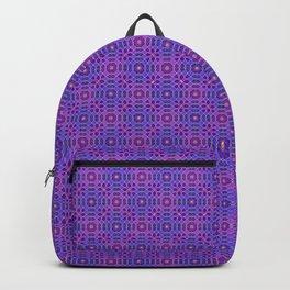 PURPLE PANACHE PATTERN Backpack