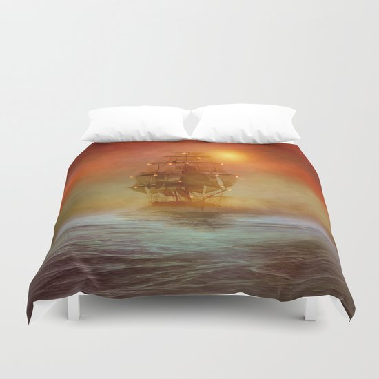 The lights (colour option) Duvet Cover