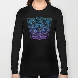 Aztec Eagle Tree Long Sleeve T-shirt