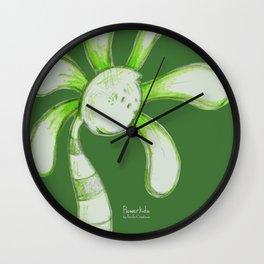 """""""Jailbird"""" Flowerkid Wall Clock"""