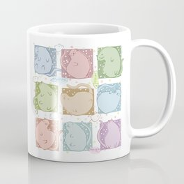 Blobby Cats Coffee Mug