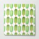 Cactus Popsicles Pattern #society6 #decor #buyart by designdn