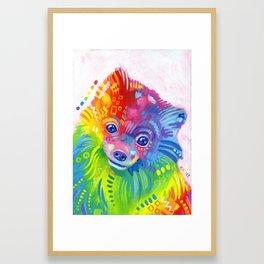 Rainbow Cookie Framed Art Print