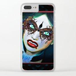 Vampire Masquerade Clear iPhone Case
