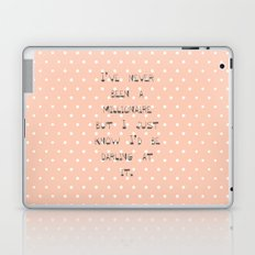 I've never been a millionaire ~ Polka Dots ~  poster ~ typography ~ illistration Laptop & iPad Skin