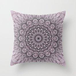 Scared Geometry, Geometric Flower - c15725 Throw Pillow