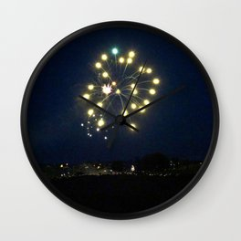July 4 Celebration Wall Clock
