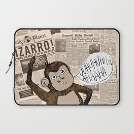 Bizarro Monkey Laptop Sleeve