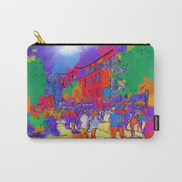 Street Scene In Soft Abstract Carry-All Pouch