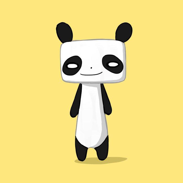 Panda 2 Duvet Cover
