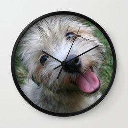 Good Morning Rocco! Wall Clock