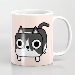 Cat Loaf - Tuxedo Kitty - Black and White Coffee Mug