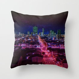 Punk City Throw Pillow