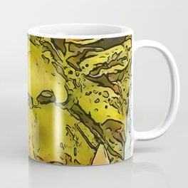 Creepy Morphed Turtle Monster Cartoon Coffee Mug