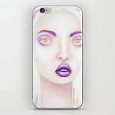 purple rain iPhone Skin