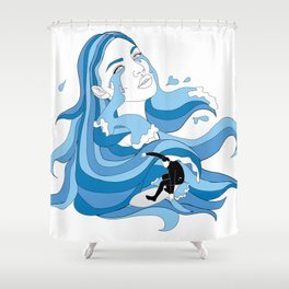 Surf's Up Shower Curtain