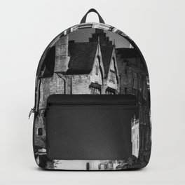 shot on film .. belfry night reflection Backpack