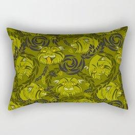 forest cat Rectangular Pillow