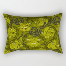 forest cat Rectangular Pillow